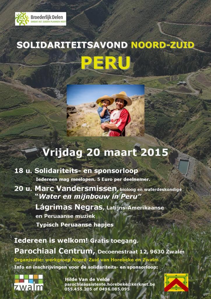 Peru affiche-flyer